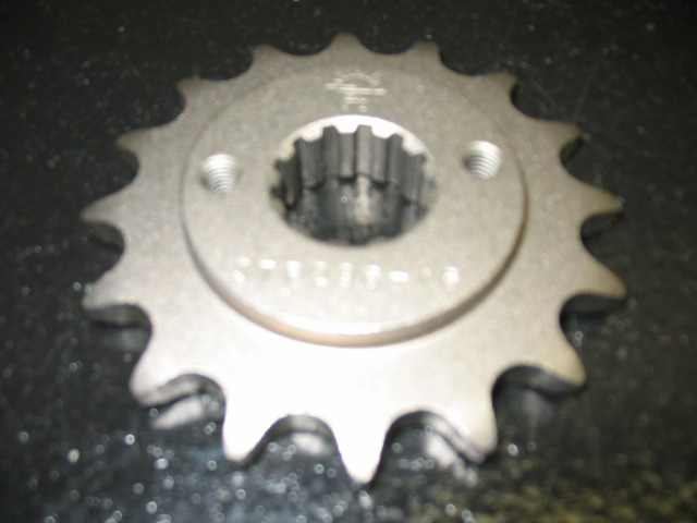 JT 15T 525 steel front sprocket