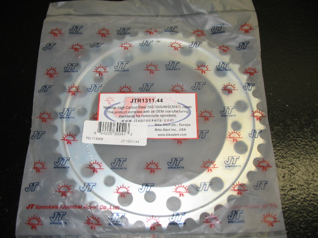 JT 44T 525 steel rear sprocket